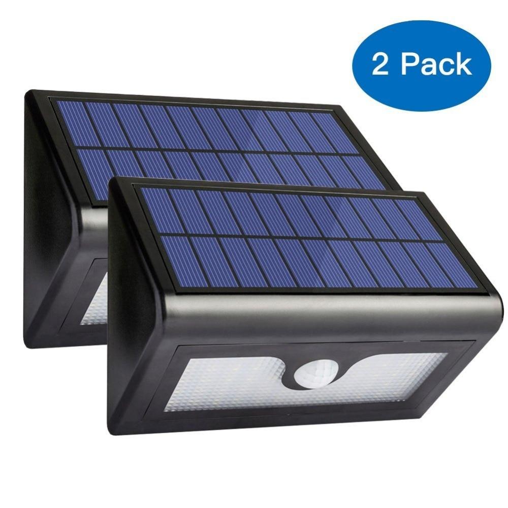 2pcs lot 50 led solar lights waterproof led outdoor yard - Iluminacion exterior led solar ...
