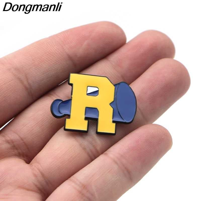 B2136 Dongmanli high quality TV series jewelry Riverdale Enamel Pins Brooch Lapel Pin Button Clothes Bag Badges