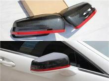 Replacement Carbon Fiber Car Rear Side Mirror Rearview Cover For BENZ W204 W207 W212 W176 W218 W221 A C CLS E CLA GLK Class