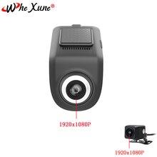 WHEXUNE оригинальный U5 Мини Full HD 1080 P Видеорегистраторы для автомобилей Камера ADAS Авто Цифровой Видео Регистраторы регистраторы для андроид мультимедийный проигрыватель