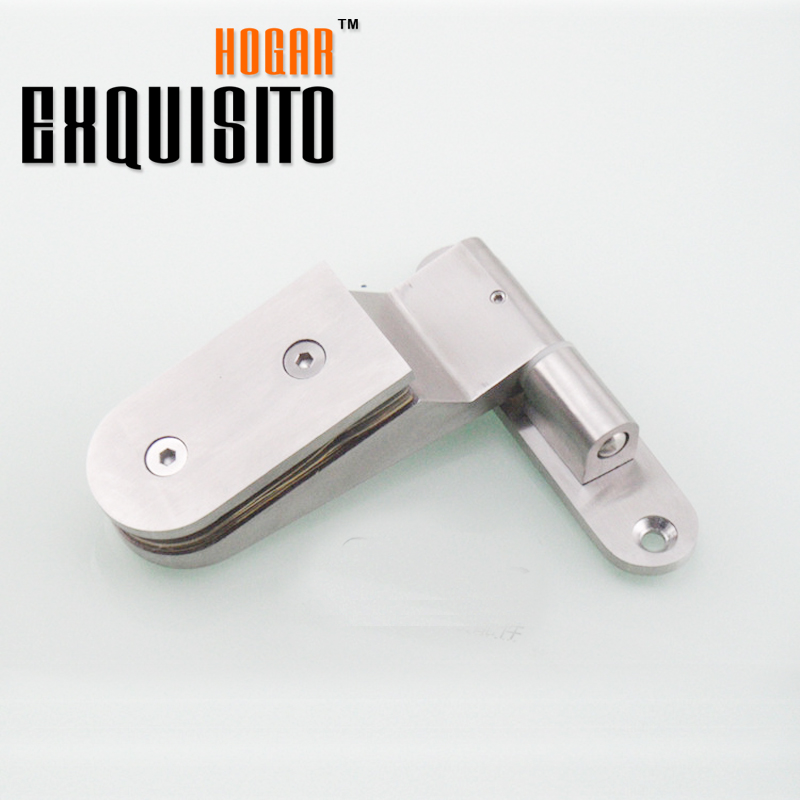 Solid 304 Stainless Steel Glass Door Bathroom Clip Shower Room Partition Free Hinge Glass Clip Glass Hinge rose gold 180 degree hinge open 304 stainless steel glass shower door hinges for home bathroom furniture hardware hm155