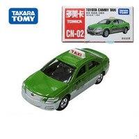 Nuovi bambini giocattoli tomy tomica verde della lega Toyota Camry taxi car die cast da collezione modellini di automobili per il regalo Di Natale