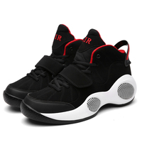 Free Shipping Wavy Grip Wear Non slip Mens Athletic Basketball Shoes Breathable Outdoor High Top Sneakers Traning Shoes 51a6702