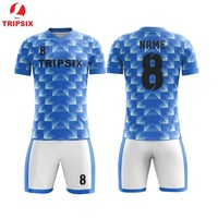 Full Soccer Uniform Wholesale Custom Sublimation Professional Soccer Jersey Free Shipping