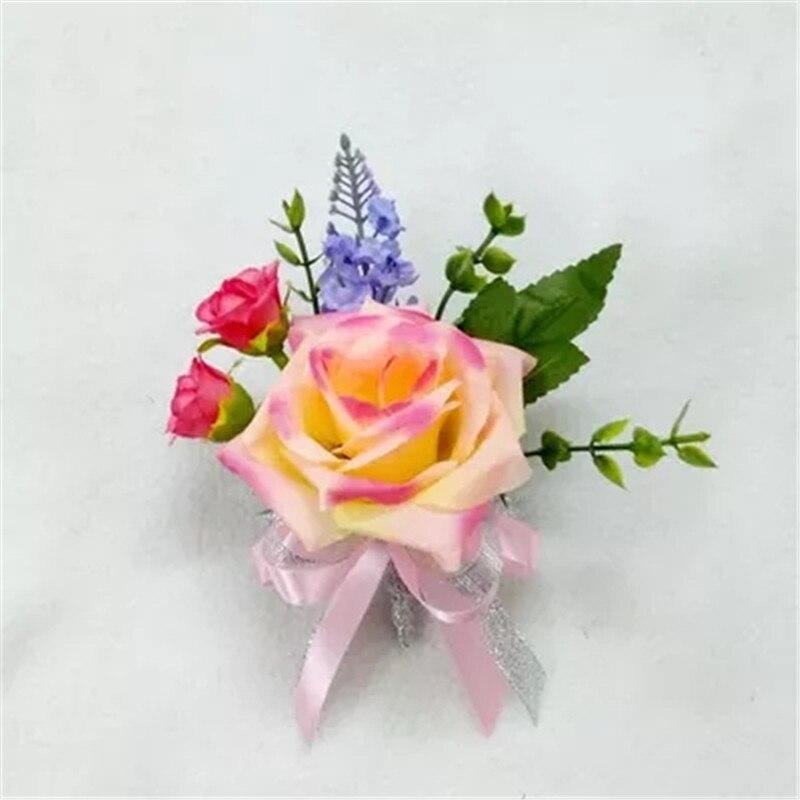FLEURISTE ART FLORAL Floral Stem Ruban 16 couleurs corsages en boutonnière fleur étamine