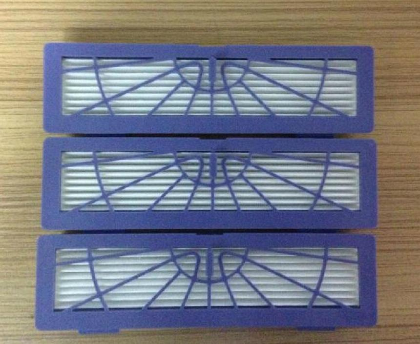 робот пылесос для сухой уборки neato botvac d85 Wholesale 40pcs/lot Blue HEPA filter for Neato 945-0122 Botvac 70 70e 75 75e 80 85 D70 D75 D85  Parts Accessary Replacement