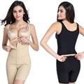 Plus size mulheres cuidados de beleza de emagrecimento bodysuits carry nádega elevador sutiã cueca aberto para trás da coxa shapewear shapers do corpo de controle