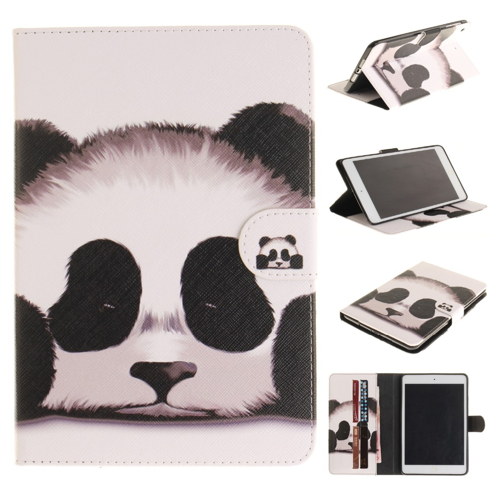 Tablet Cover for iPad mini 1 2 3 Case Cover Case for coque iPad mini 2 3 Case 7.9 with Stand Card Holder
