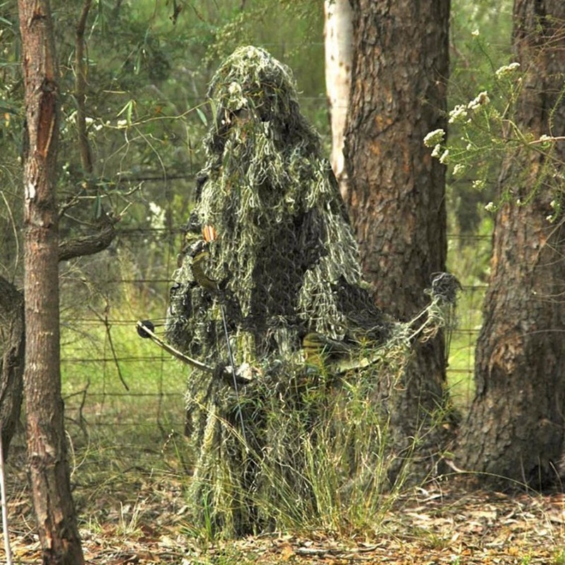 CAMO GHILLIE Hunting Clothing (8)