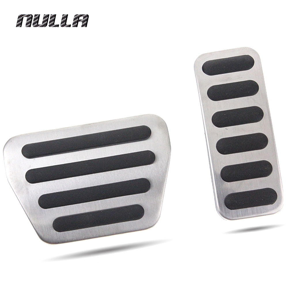 NULLA LHD Stainless Steel For Land Rover Range Rover Sport 2014 2015 2016 Fuel Gas Accelerator Pedal Pads Brake Pedals image