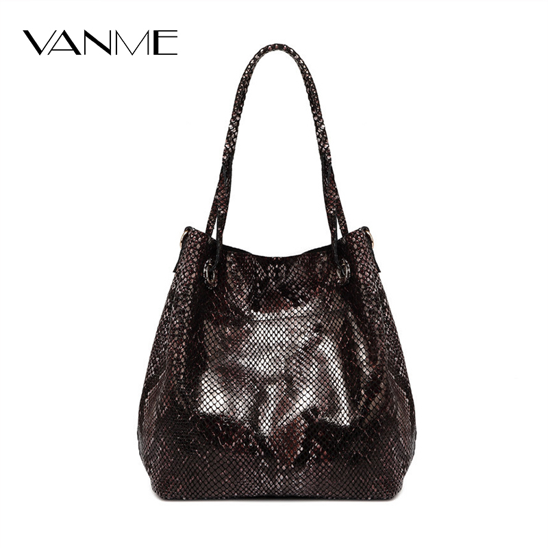 ФОТО 2017 Direct Selling Hobos Manufacturers Hot Selling Split Leather Bags Pattern European Handbag Package Shoulder Bag Wholesale