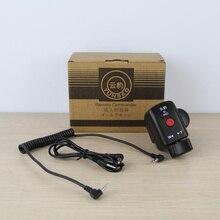 Пульт для видеокамеры управление зумом камера Пульт дистанционного управления для SONY CANON с LANC или ACC jack