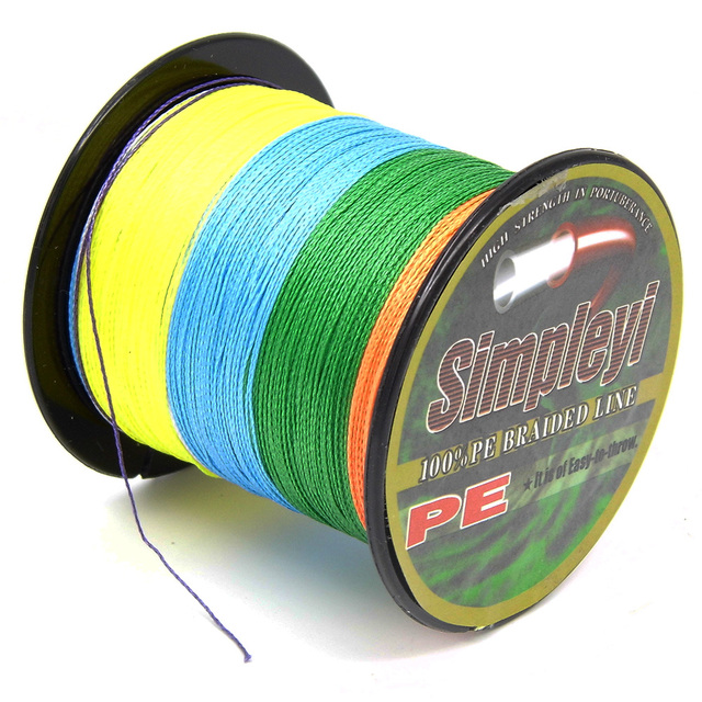 Simpleyi Lure As Gift The 100M 6-100LB PE Multifilament Super Braided Fishing Line Carp Fishing For Fish Rope Cord