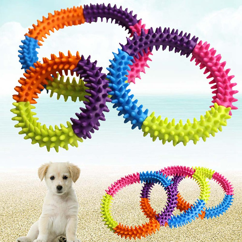 Aliexpress.com : Buy 3/4/5 Colors Ring Pet Dog Toy Soft