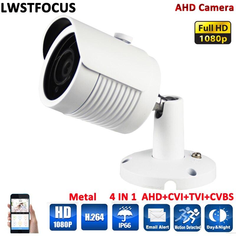 AHD Camera Full HD 1080P Metal Housing Array IR 30Meter 3 6mm lens A AHDH Camera