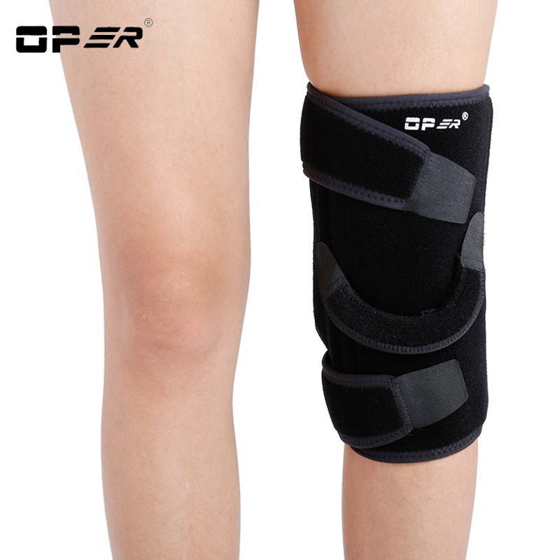 OPER Knee Pad Stabiliser Meniscus Medical Knee Support Relief Pain Brace For Injury Patella Softening Fixed Arthritis Crashproof health product knee pain relief rheumatoid arthritis treatment device with 4 function home care