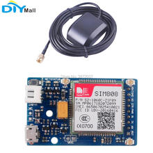 SIM808 Module Quad-Band GSM GPRS GPS Development Board with Bluetooth Function for Arduino цена
