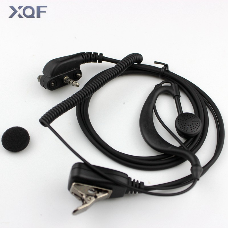 Earpiece Headset With PTT For For Vertex Standard VX131 VX230 VX231 VX261 Walkie Talkie