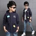 2016 Осенью новый Корейских детей пальто мальчик пальто хлопка пятиконечная звезда качества оптом поколение жира