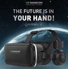 VR SHINECON VR Glasses 3D Virtual Reality Glasses Ready Player One Easter egg Movies Games for 4.0-6.0 inch Smartphone Universal