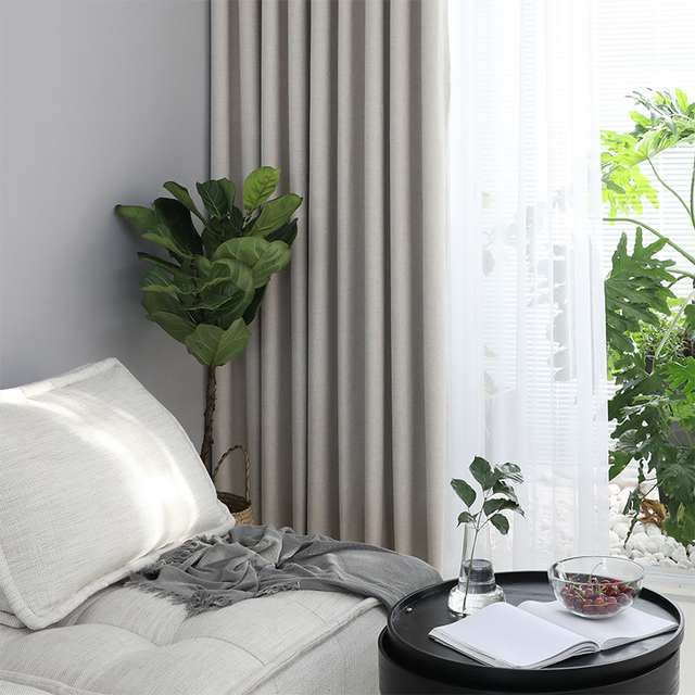 100% Solid Blackout Curtain 4