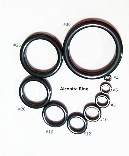 Alconite-Ring-Set Fishing-Rod-Parts Repair 2-Set 9pcs/Bag
