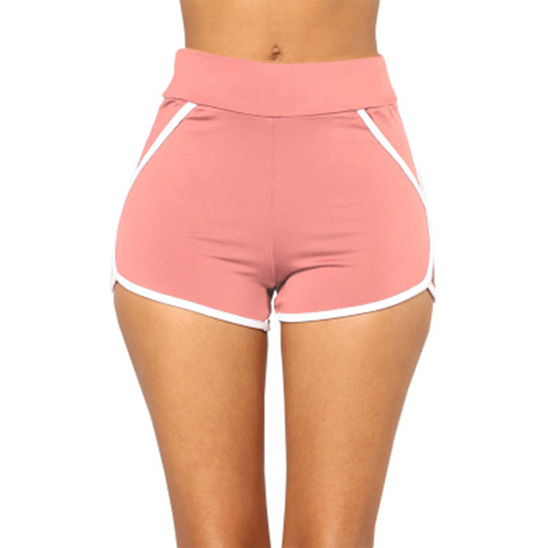 2018 Summer Women Shorts Casual Cozy Multi Colors Breathable Elastic Waist Shorts Fashion Slim Skinny Short Trousers Female