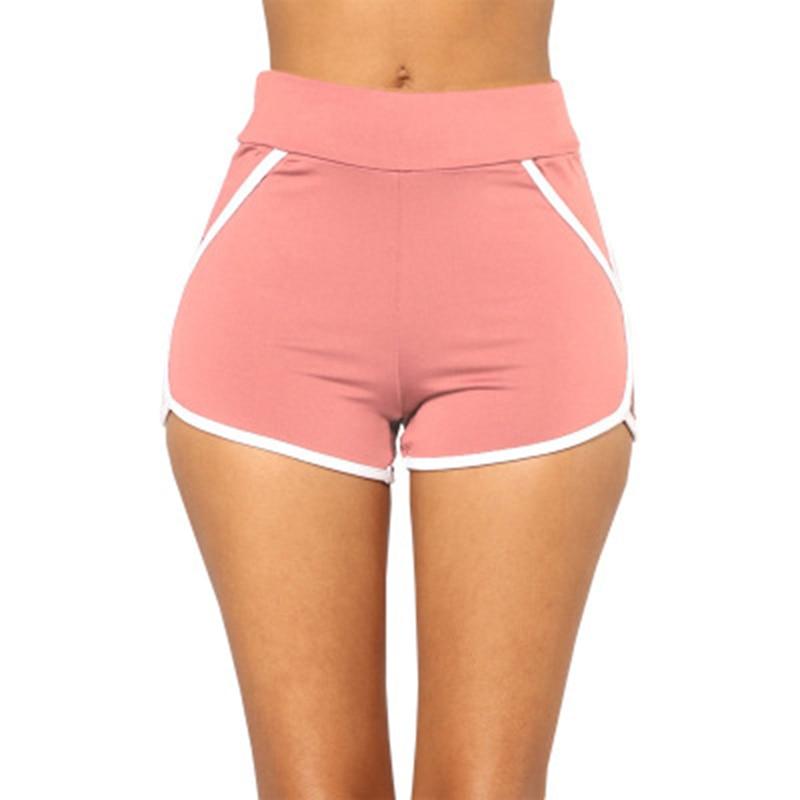 2018 Summer Women Shorts Casual Cozy Multi Colors Breathable Elastic Waist Shorts Fashion Slim Skinny Short Trousers Female