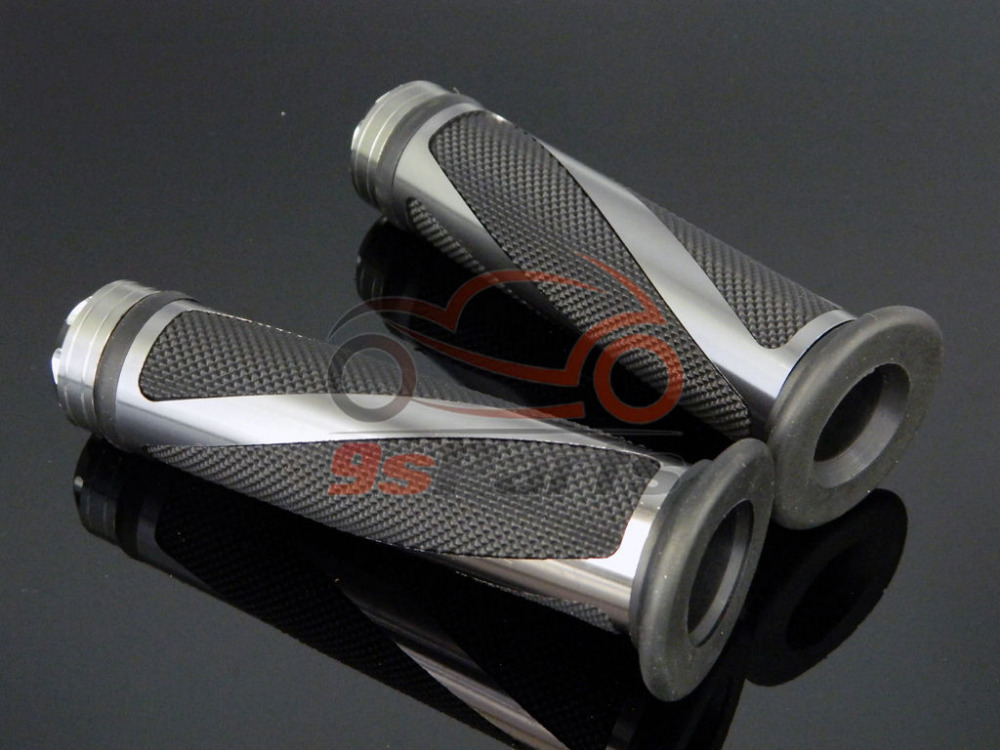"""Мотоцикл Мотокросс Байк алюминий 7/"""" Гель для руля прорезиненные ручки для Honda Yamaha Suzuki Kawasaki KTM ATV Ducati"""