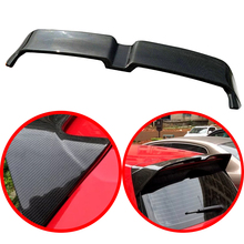 цена на High quality ABS spoiler For Volkswagen Golf 7 MK7 2013-2017 primer or Carbon Fiber Decorative pattern rear wing Golf spoiler