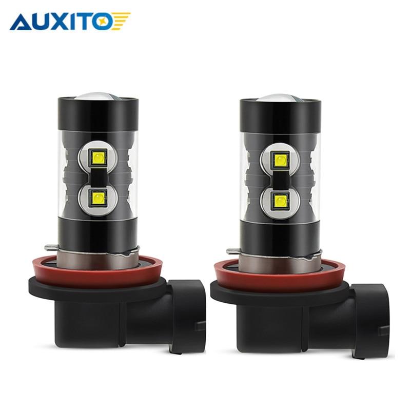 H11 H8 LED PSX24W H16 Car Fog Light 50W H10 9006 HB4 880 881 H27 H3 DRL Bulbs For Hyundai Solaris Accent Tucson I30 Ix35 Elantra