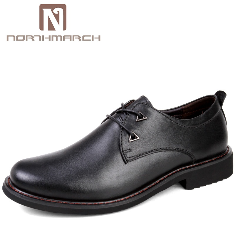 NORTHMARCH 2018 New High Quality Genuine Leather Man Shoes Business Casual Shoes Man Breathable Leather Formal Shoes For Men 2016 new high quality genuine leather men business casual shoes men woven breathable hole gentleman shoes brand taima 40 45