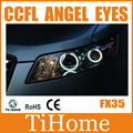 Free Shipping FX35 QX 70 CCFL ANGEL EYES , NON PROJECTOR HALO RING, CCFL ANGELEYES KIT FOR INFINITI FX35 QX70
