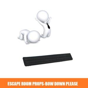 Sala de escapar Adereços Kits Sensor De Controle Interruptor de Pressão e Vibração 60 kg Ímã Bloqueio Suprimentos Sala de Fuga ARCO PARA BAIXO POR FAVOR