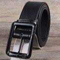 Hongmioo Newest Designer Belts Men High Quality Luxury Brand Waistband Vintage Classic PU Black Leather Belt Men Ceinture Cuir