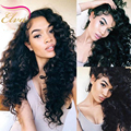 Brazilian Curly Lace Wig Full Lace Human Hair Wigs For Black Women Loose Deep Wave Glueless Lace Font Hair Wigs With Baby Hair