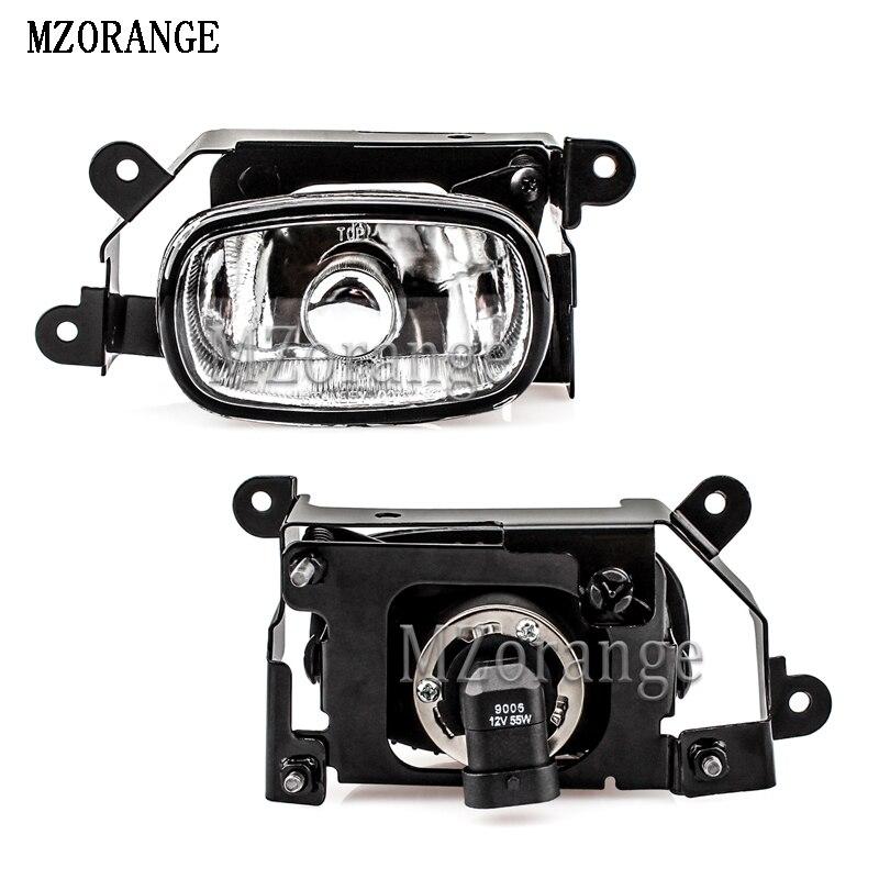 MZORANGE 55W For Mitsubishi Outlander 2003-2007 Fog Lamp Front Bumper Fog Light With Bulb Left/Right