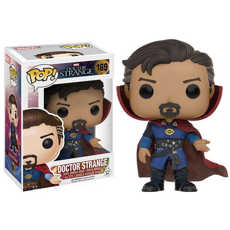 Funko-POP-The-Marvel-Avengers3-Infinity-War-Doctor-Strange-brinquedos-Action-Figure-toys-for-children-birthday