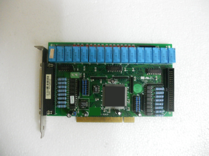 Original PCI-16P16R digital I/O card industrial motherboard dhl ems pcb1063c pci digital i o short 14930 btw 0731 rev 000 scanner technologies corp c3 d9