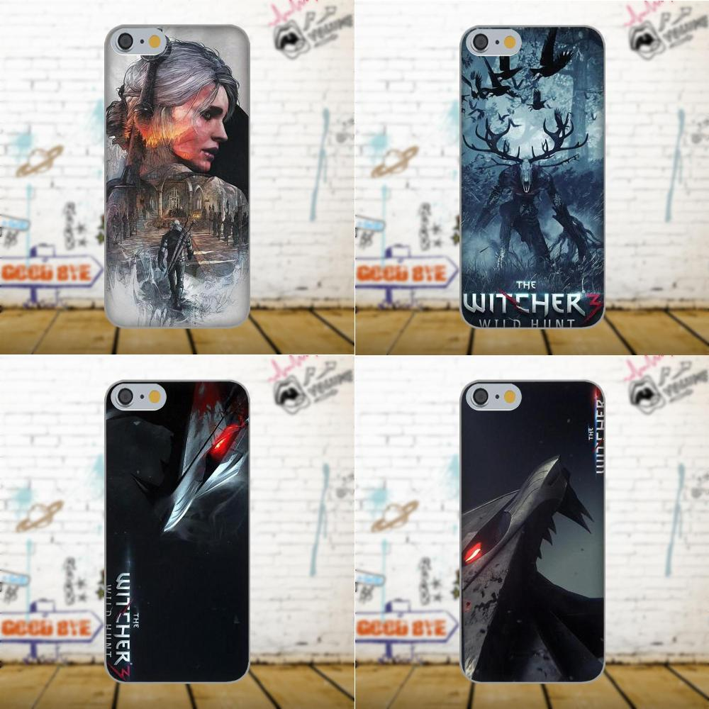 Bixedx Soft Capa Cover Case For Apple iPhone 4 4S 5 5C SE 6 6S 7 8 Plus X Galaxy Grand Core II Prime Alpha The Witcher