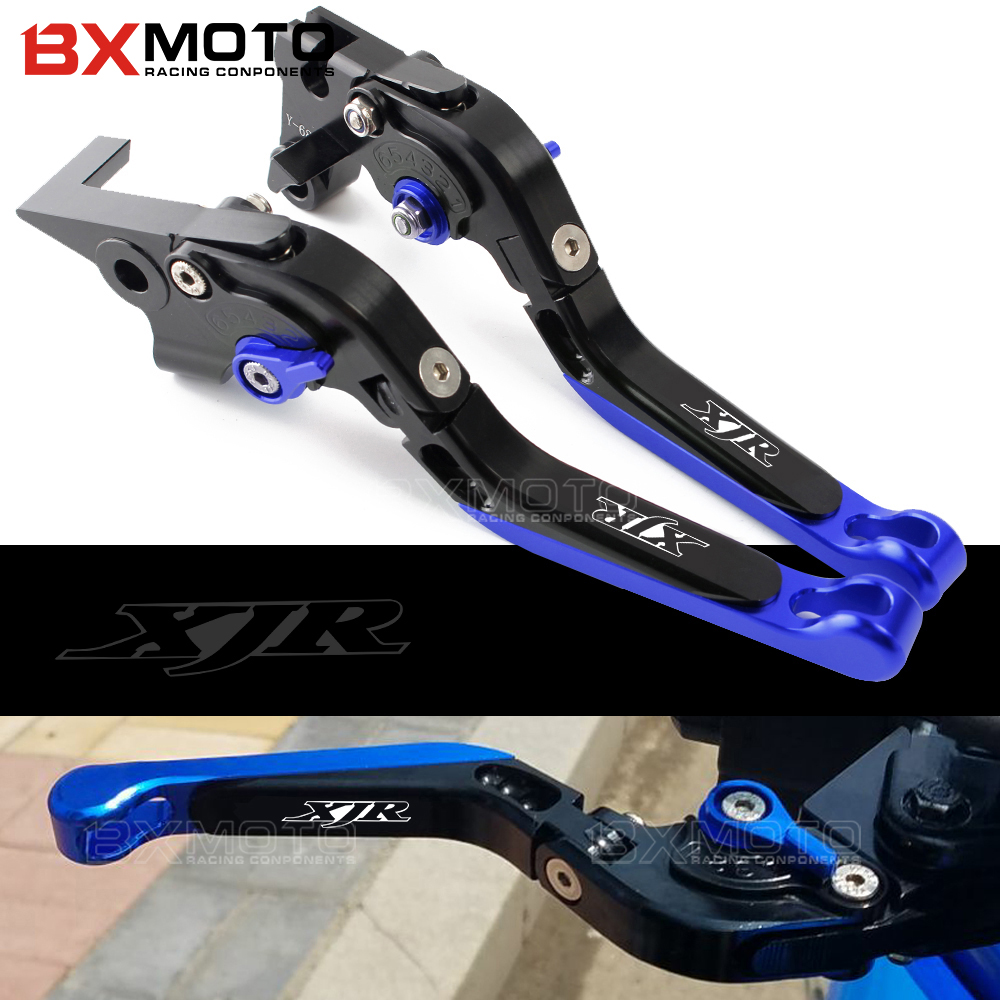 Adjustable Brake Clutch Levers set For Yamaha XJR 1300/RACER XJR1300 2004-2015 2016 Motorcycle CNC Aluminum Brake Levers Clutch adjustable cnc motorcycle brake clutch levers for yamaha supertenere xt1200ze 2012 2016 xjr1300 2004 2014 fjr 1300 2004 2016