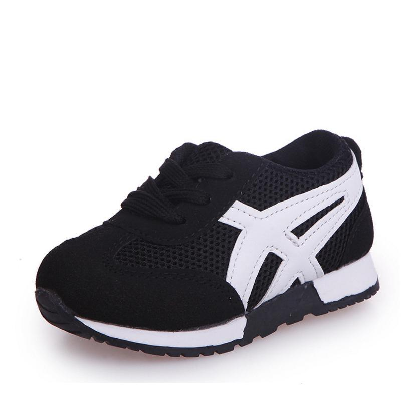 Kids Mesh Shoes Children Summer Autumn Breathable Light Girls Boys Canvas Sport Running Shoes Fashion Sneakers(little Kid/baby)