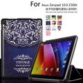 Unique design Color Painted Magnetic Smart Cover For Asus Zenpad 10 Z300 Z300c Tablet cases PU Leather Case Flip Cover