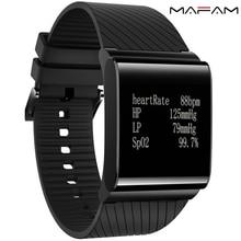 X9 плюс Смарт-часы браслет на запястье Монитор сердечного ритма Bluetooth трекер крови Давление кислорода в крови монитор mafam