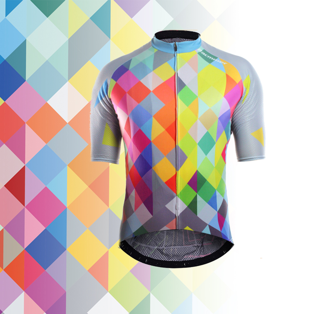 39d98159f Racmmer 2018 Breathable Cycling Jersey Summer Mtb Bicycle Short Clothing  Ropa Maillot Ciclismo Sportwear Bike Clothes
