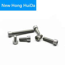 цена на DIN912 Hex Head Socket Cap Screws Hexagon Thread Metric Machine Allen Bolt 304 Stainless Steel M2