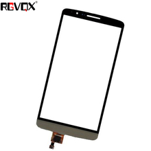 New Touch Screen For LG G3 D855 D850 Digitizer Front Glass Lens Sensor Panel Replacement grey lcd display with touch screen digitizer panel assembly complete for lg g3 d855 d850 replacement free shipping