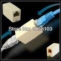 [RedStar] 10 ШТ./ЛОТ RJ45 Сетевой разъем кабеля Женский Женский удлинитель Адаптер Ethernet Сетевой Штекер в голове