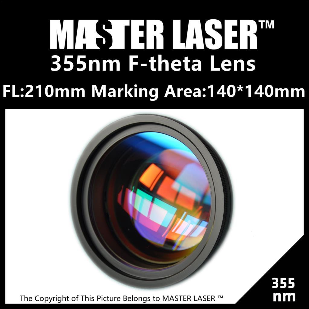 Good Price FL:210mm Marking Area140*140 355nm Scanning Lens Scan Scope Scan Lens for  Best Optics  цены