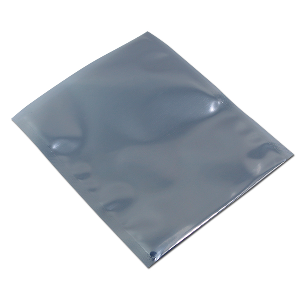7 11cm Open Top Antistatic Bag Plastic ESD Anti static Bags Electronics Shielding Storage Poly Bag